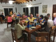 dinner in belize 2017